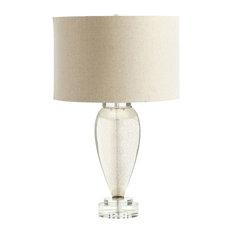 Hatie 1 Light Table Lamp in Mercury