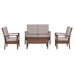 Tropical Outdoor Lounge Sets by Safavieh