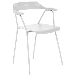 4455 Dining Chair, White