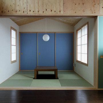 横須賀の家 鴨居
