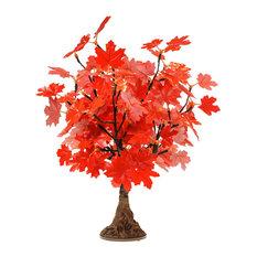 LED Red Maple Tree, Warm White LED