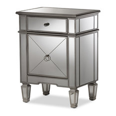 Mirrored Nightstands and Bedside Tables Up to f Free