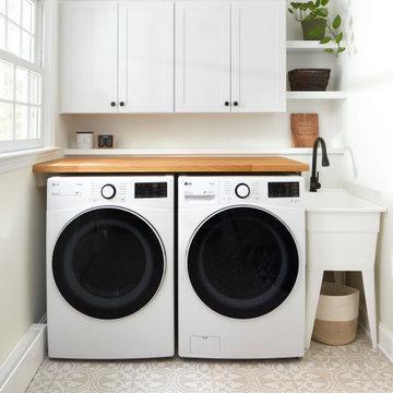 Black and White Kitchen - Cherry Hill
