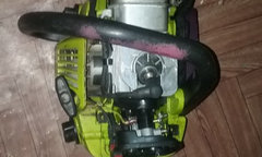Help please - chainsaw starts fine but dies when given gas
