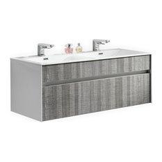 48 inch double sink bathroom vanities | houzz