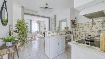 Home Staging d'un appartement vide en centre Nimes