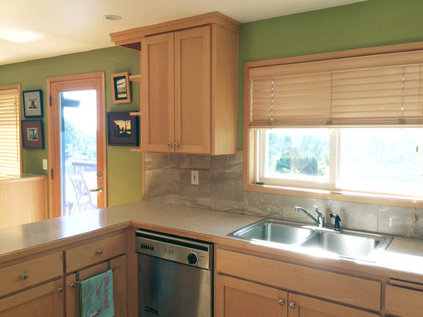 Before: Fresh Maple Kitchen Remodel