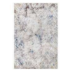 nuLOOM Hanna Raised Stripes Indoor/Outdoor Vintage Area Rug, Beige, 5'x8'