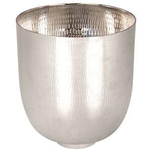 Kaas Au Carré Medium Decorative Bowl, Bright Silver