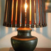Project Rehab: New Leather Shade Makes a Vintage Lamp Light Up