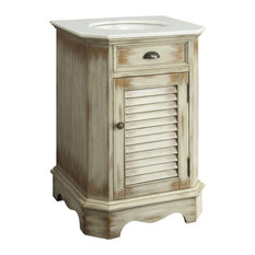 Farmhouse Bathroom Vanity, 24""