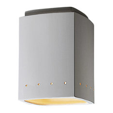 Radiance 1-Light Outdoor Ceiling Light, Bisque