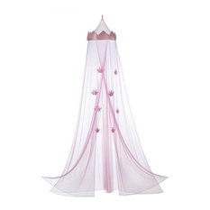 Accent Plus - Pink Princess Bed Canopy - Bed Accessories