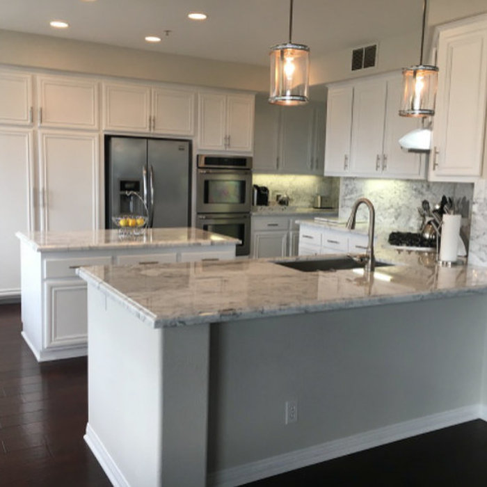 San Clemente Marble Kitchen