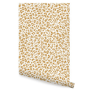 Leopard Peel And Stick Wallpaper Contemporary Wallpaper By York Wallcoverings Inc