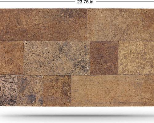 designer cork wall tiles artwork