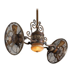 50 most popular victorian ceiling fans for 2018 houzz steel ceiling fan with 6 blades and light kit ceiling fans aloadofball Images