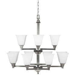 Unique Transitional Chandeliers by Sea Gull Lighting
