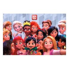 Wreck It Ralph 2 Princess Poster, Unframed Version