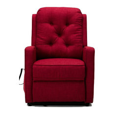 Paxton Track Arm Lift Chair, Red