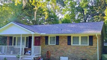 Goose Creek roof Job
