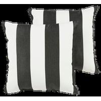 "Cabana Sunbrella Outdoor Square Pillows, Set of 2, 18""x18"""