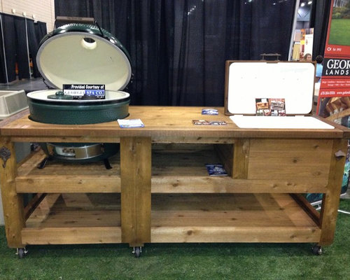 Grill U0026 Chill Table For Kamado Joe, Big Green Egg, Primo, Gas Grills