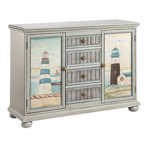 Coastal Chest - Beach Style - Accent Chests And Cabinets - by Gallerie Decor
