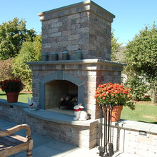 Exterra fireplace photos