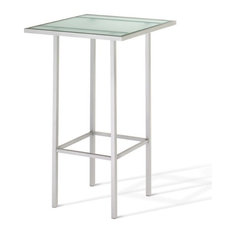 Square Pub Table With Glasstop Counter Height