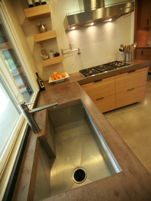 saveemail - Colored Concrete Countertops