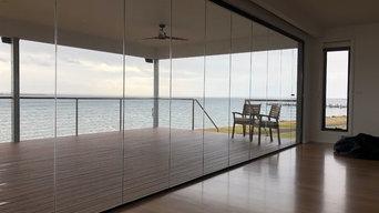 Waterfront Folding Doors Balcony