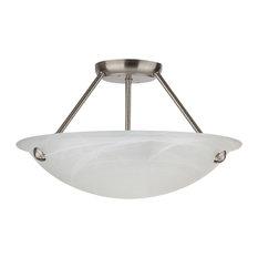 Hilde 3-Light Semi Flush