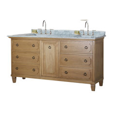 Legion Olivia Double Vanity, Weathered Light Brown