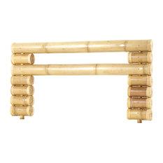 Tikamoon - Tête de lit en bambou authentique 160 Balyss - Tête de Lit