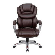 flash furniture flash furniture chairs leather executive swivels office chairs brown leather office chairs