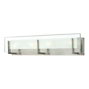 Hinkley Latitude Bath 4-Light Vanity, Brushed Nickel