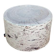 Tree Stump Heavyweight Pouffe/Coffee Table, Birch