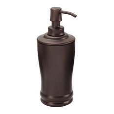 iDesign Olivia Tall Soap Pump, Bronze