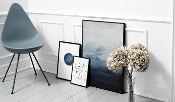 Interiør fotografering af Trine Holbæk Design hos boligstylist Ida Dalgaard