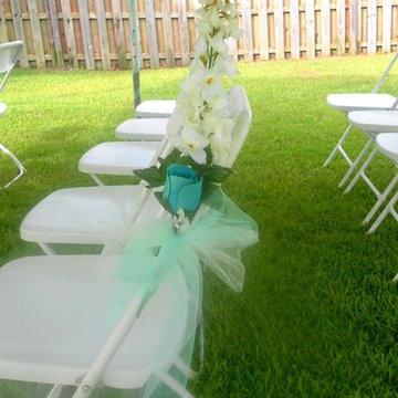 A Summer Wedding at Home