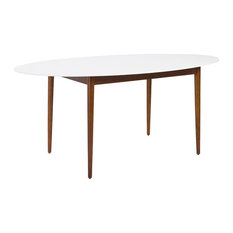 oval dining room tables  houzz, Dining tables