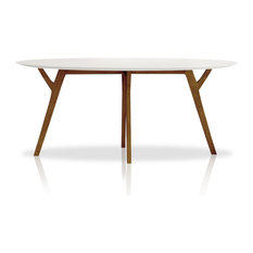Inmod   Eco Natura Anja Round Dining Table   Dining Tables