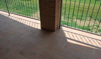 Pavimentazione esterna in gres porcellanato