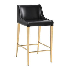 D'Arcy Barstool Black Set Of 2