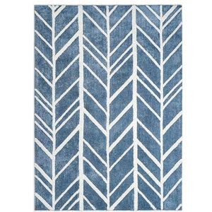 Anji Mountain Bamboo Rug, Co. Astralis Area Rug, Smokey Blue, 9'x12'