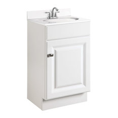 design house wyndham 1door vanity white semigloss finish 18
