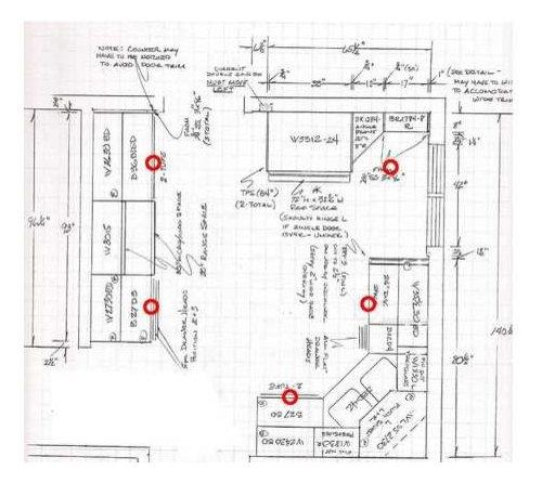 kitchen remodel lighting plan