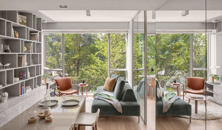 Houzz Tour: A Contemporary 'Cabin in the Woods' in the City