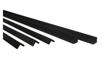 Sustainable Wood Trim, Black